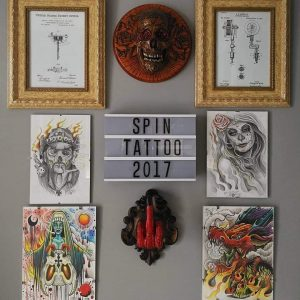 LÁMINAS Y DECORACIÓN EN SPIN TATTOO